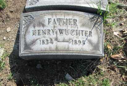WUCHTER (CW), HENRY - Lehigh County, Pennsylvania   HENRY WUCHTER (CW) - Pennsylvania Gravestone Photos