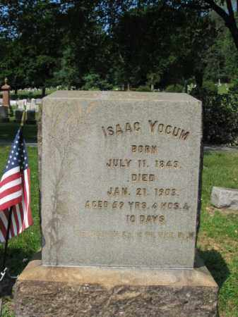YOCUM, ISAAC - Lehigh County, Pennsylvania | ISAAC YOCUM - Pennsylvania Gravestone Photos