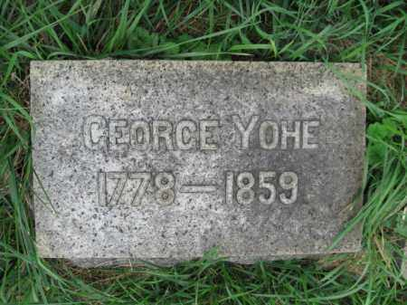 YOHE, GEORGE - Lehigh County, Pennsylvania | GEORGE YOHE - Pennsylvania Gravestone Photos