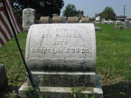 YOUNG, JOHN A. - Lehigh County, Pennsylvania | JOHN A. YOUNG - Pennsylvania Gravestone Photos