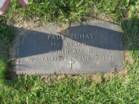 YUHAS, PAUL - Lehigh County, Pennsylvania   PAUL YUHAS - Pennsylvania Gravestone Photos