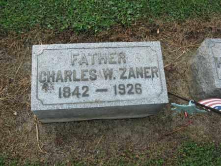 ZANER (CW), CHARLES W. - Lehigh County, Pennsylvania | CHARLES W. ZANER (CW) - Pennsylvania Gravestone Photos