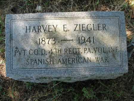 ZIEGLER (SAW), HARVEY E. - Lehigh County, Pennsylvania | HARVEY E. ZIEGLER (SAW) - Pennsylvania Gravestone Photos