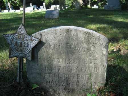ELLIOT, CORP. JOSEPH - Luzerne County, Pennsylvania | CORP. JOSEPH ELLIOT - Pennsylvania Gravestone Photos