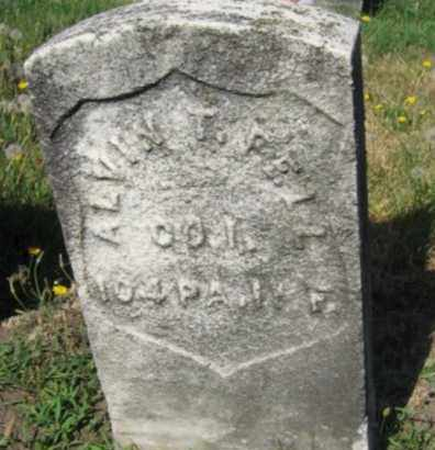 FELL (CW), ALVIN T. - Luzerne County, Pennsylvania | ALVIN T. FELL (CW) - Pennsylvania Gravestone Photos