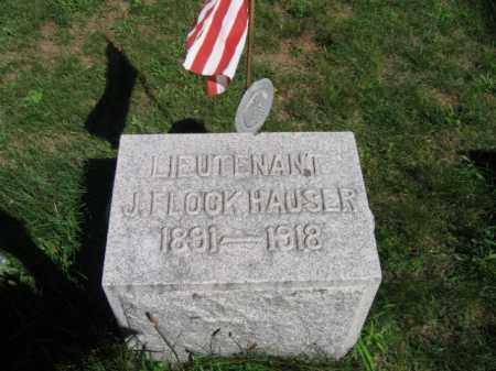 HAUSER, LIEUT. J. FLOCK - Luzerne County, Pennsylvania   LIEUT. J. FLOCK HAUSER - Pennsylvania Gravestone Photos