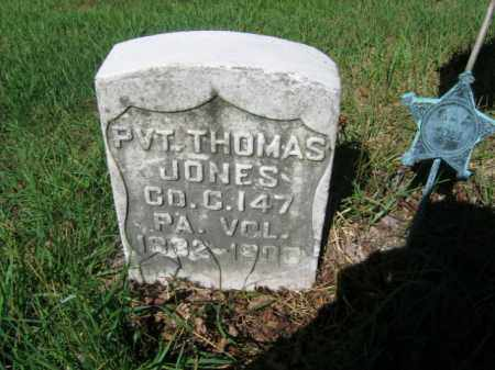 JONES, THOMAS - Luzerne County, Pennsylvania | THOMAS JONES - Pennsylvania Gravestone Photos