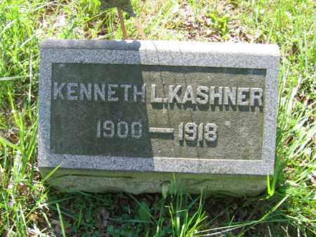 KASHNER, KENNETH L. - Luzerne County, Pennsylvania | KENNETH L. KASHNER - Pennsylvania Gravestone Photos
