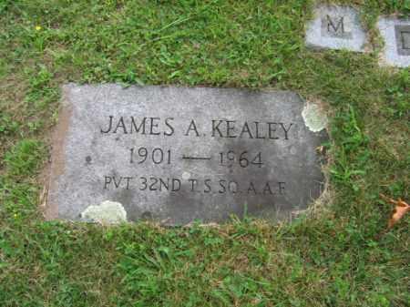 KEALEY, JAMES  A. - Luzerne County, Pennsylvania | JAMES  A. KEALEY - Pennsylvania Gravestone Photos