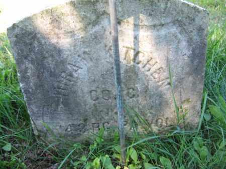 KITCHEN, HIRAM - Luzerne County, Pennsylvania   HIRAM KITCHEN - Pennsylvania Gravestone Photos