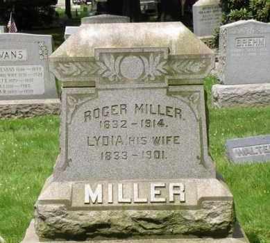 MILLER (CW), ROGER - Luzerne County, Pennsylvania   ROGER MILLER (CW) - Pennsylvania Gravestone Photos