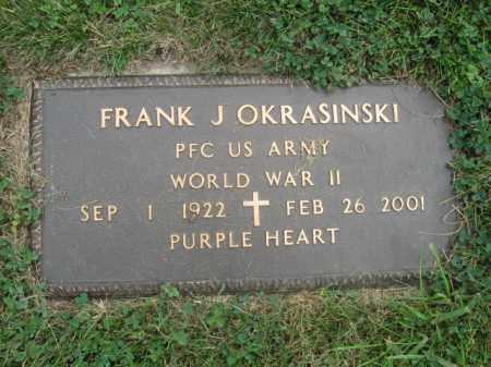 OKRASINSKI, FRANK  J. - Luzerne County, Pennsylvania   FRANK  J. OKRASINSKI - Pennsylvania Gravestone Photos