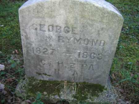 RYMOND, GEORGE - Luzerne County, Pennsylvania | GEORGE RYMOND - Pennsylvania Gravestone Photos