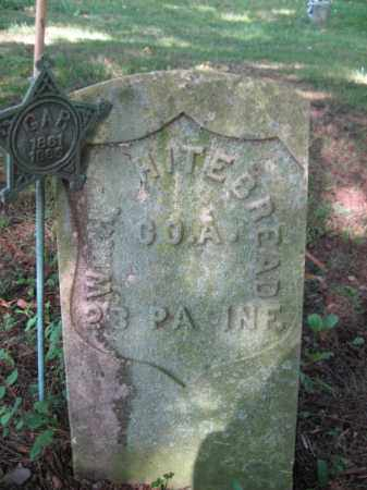WHITEBREAD, WILLIAM H. - Luzerne County, Pennsylvania   WILLIAM H. WHITEBREAD - Pennsylvania Gravestone Photos