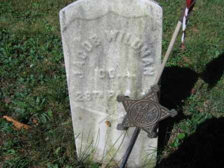 WILDMAN, JACOB` - Luzerne County, Pennsylvania | JACOB` WILDMAN - Pennsylvania Gravestone Photos