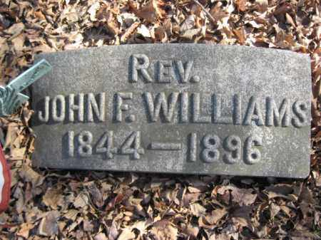 WILLIAMS, REV.JOHN F. - Luzerne County, Pennsylvania | REV.JOHN F. WILLIAMS - Pennsylvania Gravestone Photos