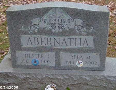 ABERNATHA, CHESTER - Lycoming County, Pennsylvania | CHESTER ABERNATHA - Pennsylvania Gravestone Photos