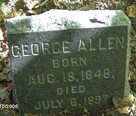 ALLEN, GEORGE - Lycoming County, Pennsylvania   GEORGE ALLEN - Pennsylvania Gravestone Photos