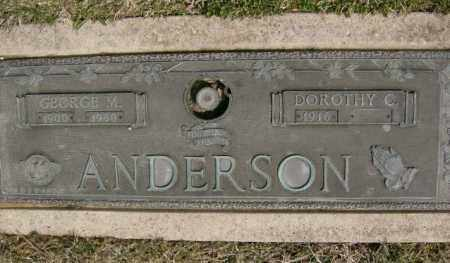 ANDERSON, GEORGE - Lycoming County, Pennsylvania | GEORGE ANDERSON - Pennsylvania Gravestone Photos