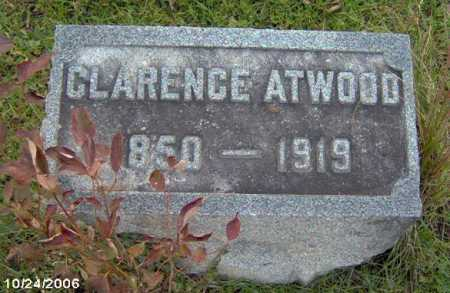 ATWWOD, CLARENCE - Lycoming County, Pennsylvania | CLARENCE ATWWOD - Pennsylvania Gravestone Photos