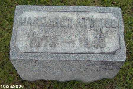 ATWWOD, MARGARET - Lycoming County, Pennsylvania | MARGARET ATWWOD - Pennsylvania Gravestone Photos
