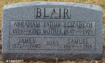 BLAIR, JAMES - Lycoming County, Pennsylvania | JAMES BLAIR - Pennsylvania Gravestone Photos