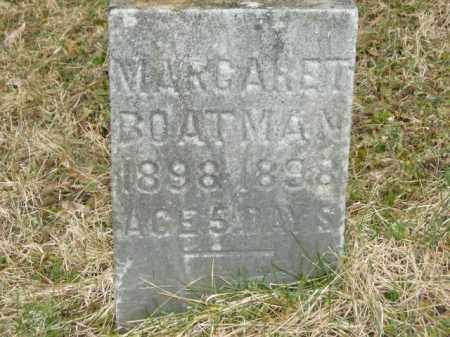 BOATMAN, MARGARET - Lycoming County, Pennsylvania | MARGARET BOATMAN - Pennsylvania Gravestone Photos