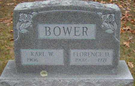 BOWER, FLORENCE - Lycoming County, Pennsylvania   FLORENCE BOWER - Pennsylvania Gravestone Photos