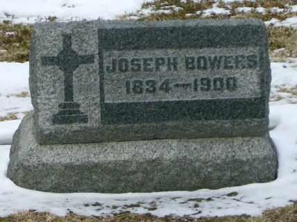BOWERS, JOSEPH - Lycoming County, Pennsylvania | JOSEPH BOWERS - Pennsylvania Gravestone Photos