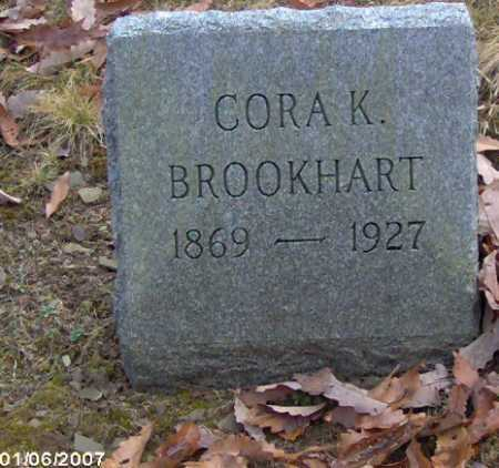 GROVE BROOKHART, CORA K. - Lycoming County, Pennsylvania | CORA K. GROVE BROOKHART - Pennsylvania Gravestone Photos