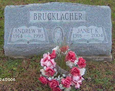 BRUCKLACHER, ANDREW - Lycoming County, Pennsylvania | ANDREW BRUCKLACHER - Pennsylvania Gravestone Photos