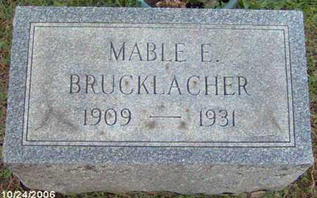 BRUCKLACHER, MABEL - Lycoming County, Pennsylvania | MABEL BRUCKLACHER - Pennsylvania Gravestone Photos