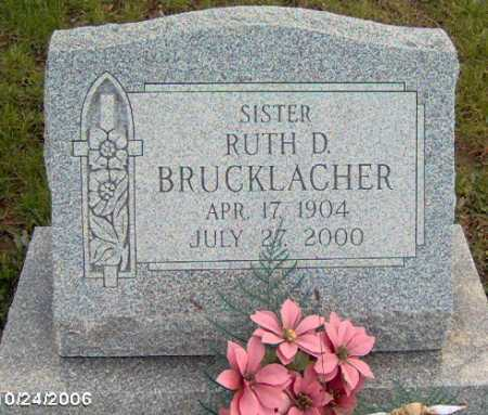 BRUCKLACHER, RUTH - Lycoming County, Pennsylvania | RUTH BRUCKLACHER - Pennsylvania Gravestone Photos