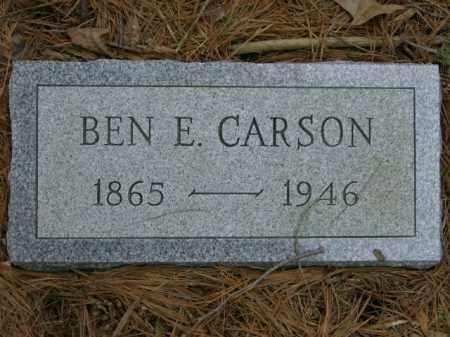 CARSON, BENJAMIN - Lycoming County, Pennsylvania | BENJAMIN CARSON - Pennsylvania Gravestone Photos