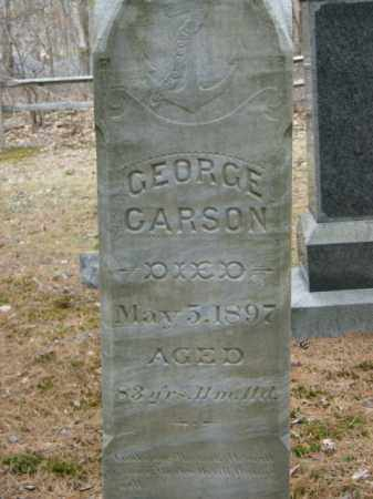 CARSON, GEORGE - Lycoming County, Pennsylvania | GEORGE CARSON - Pennsylvania Gravestone Photos