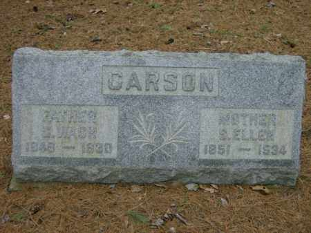 CARSON, ELLEN - Lycoming County, Pennsylvania | ELLEN CARSON - Pennsylvania Gravestone Photos