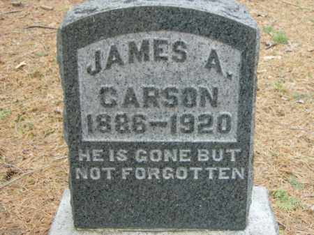 CARSON, JAMES - Lycoming County, Pennsylvania | JAMES CARSON - Pennsylvania Gravestone Photos