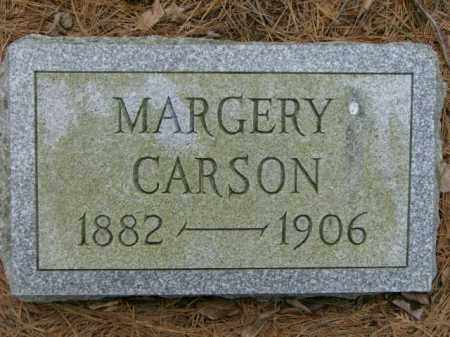 CARSON, MARGERY - Lycoming County, Pennsylvania | MARGERY CARSON - Pennsylvania Gravestone Photos