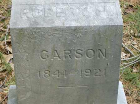 CARSON, ROBERT - Lycoming County, Pennsylvania | ROBERT CARSON - Pennsylvania Gravestone Photos