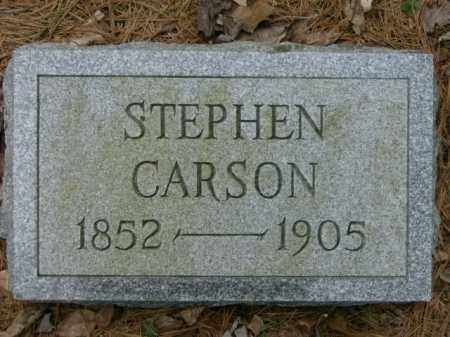 CARSON, STEPHEN - Lycoming County, Pennsylvania | STEPHEN CARSON - Pennsylvania Gravestone Photos