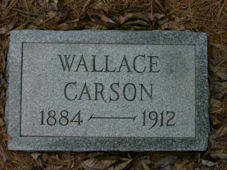 CARSON, WALLACE - Lycoming County, Pennsylvania | WALLACE CARSON - Pennsylvania Gravestone Photos
