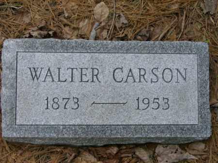 CARSON, WALTER - Lycoming County, Pennsylvania | WALTER CARSON - Pennsylvania Gravestone Photos