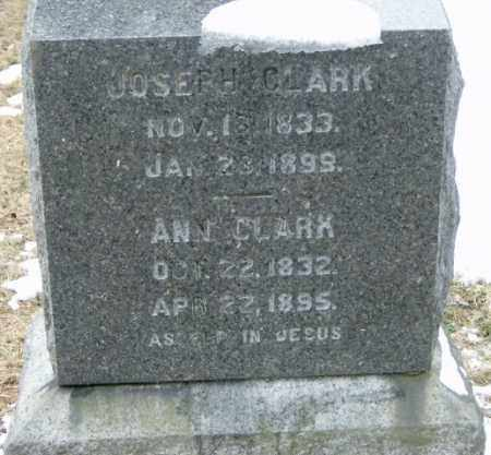 CLARK, ANN - Lycoming County, Pennsylvania | ANN CLARK - Pennsylvania Gravestone Photos