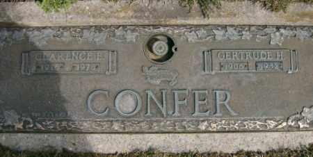 CONFER, GERTRUDE - Lycoming County, Pennsylvania   GERTRUDE CONFER - Pennsylvania Gravestone Photos