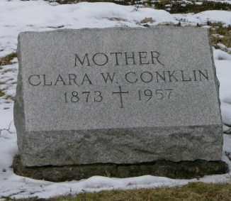 CONKLIN, CLARA - Lycoming County, Pennsylvania | CLARA CONKLIN - Pennsylvania Gravestone Photos