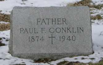 CONKLIN, PAUL - Lycoming County, Pennsylvania   PAUL CONKLIN - Pennsylvania Gravestone Photos