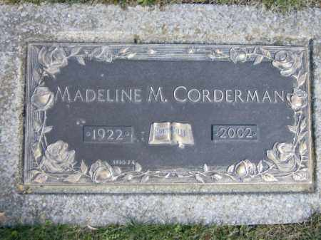 CORDERMAN, MADELINE - Lycoming County, Pennsylvania | MADELINE CORDERMAN - Pennsylvania Gravestone Photos