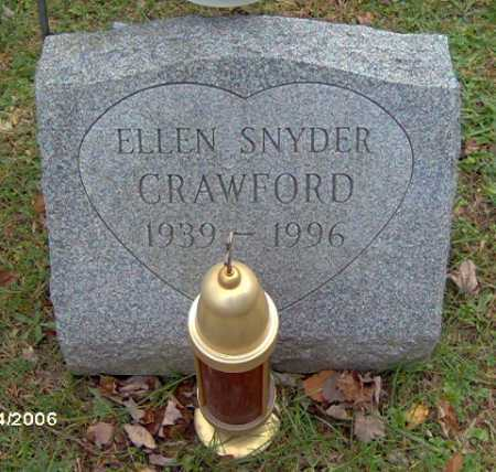 SNYDER CRAWFORD, ELLEN - Lycoming County, Pennsylvania | ELLEN SNYDER CRAWFORD - Pennsylvania Gravestone Photos