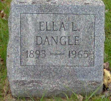DANGLE, ELLA - Lycoming County, Pennsylvania   ELLA DANGLE - Pennsylvania Gravestone Photos