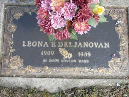 DELJANOVAN, LEONA - Lycoming County, Pennsylvania | LEONA DELJANOVAN - Pennsylvania Gravestone Photos